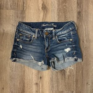 American Eagle Super Stretch Jean Shorts